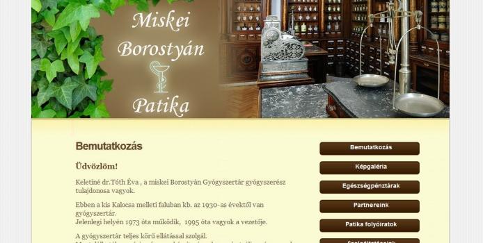 Miskei Borostyán Patika